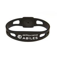 ABILES plusブレスレット (アビリスプラス) ブラック/全4サイズ