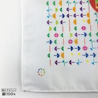 カタカムナ ハンカチ/カタカムナπ 52×52cm