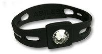 ABILES plusクリスタルブレスレット (アビリスプラス) ブラック/全4サイズ