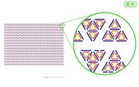 DNA三重鎖(トリプレット)コード-トライアングル ・大サイズ