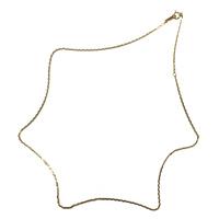 クスリエ ネックレス用チェーン/K18(ゴールド)0.53mm