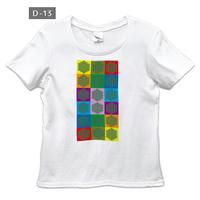 ユニカオリジナルエンバランスTシャツ/クスリエ前面印刷(レディース)