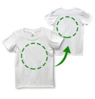 ユニカオリジナルTシャツクスリエオーダー両面印刷/全5サイズ(男女兼用)