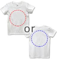 ユニカオリジナルTシャツ クスリエオーダー片面印刷/全5サイズ(男女兼用)