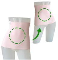 ユニカオリジナルエンバランス腹巻き/クスリエオーダー両面印刷/2色/M・L