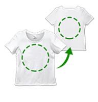 ユニカオリジナルエンバランスTシャツ クスリエオーダー両面印刷/S・M・L(レディース)