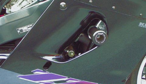 GSG Mototechnik ZZR1100D フレームスライダー
