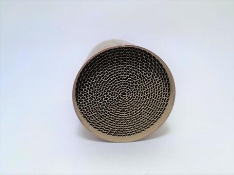 キャタライザー(触媒)φ56 L80mm 300セル ハニカム (ハチの巣) タイプ
