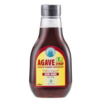 有機アガベシロップ RAW DARK*330g*GI値約30*ローフード対応*コクと深みのある味わい