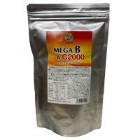 メガB&C2000*60包入*ビタミンB群高含有、その働きを高める亜鉛、核酸、ビタミンCも配合