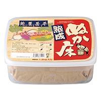 麹屋甚平熟成ぬか床*1.2kg*容器付*すぐに漬けられる生ぬか床*化調不使用