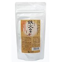 鉄火みそ(麦みそ)*70g*有機麦みそ、国産特別栽培野菜使用*鉄釜で長時間炒りあげた
