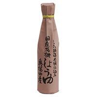 【足立醸造】国産有機醤油 300ml*国産の有機原料のみを使用*まろやかで香り高い