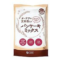 玄米入りグルテンフリーパンケーキミックス*200g*砂糖・卵・乳製品不使用
