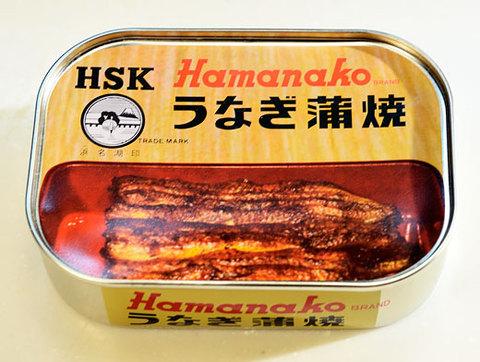 <浜名湖食品> うなぎ蒲焼缶詰5缶セット