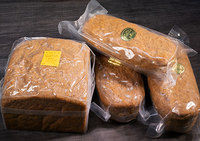 低GI値ライ麦パン4個
