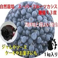 自然農法・自然栽培 冷凍カシス(1kg )