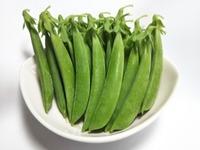 自然栽培完熟スナップエンドウ