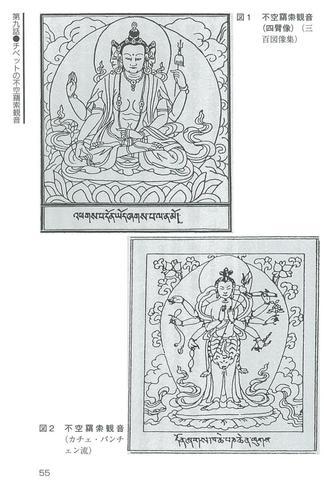 チベットの仏たち