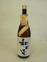 特別純米酒「和田来」1.8L