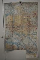 江戸 地図 彩色木版画 和本 「摂津 大阪絵図」 坂本竜馬