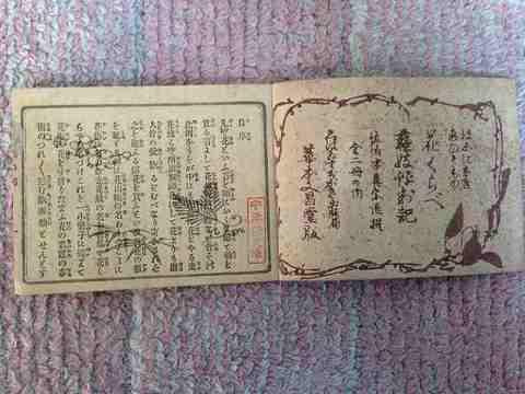 明治初 和本 木版 大阪『芸妓評判記・山』花魁 美人