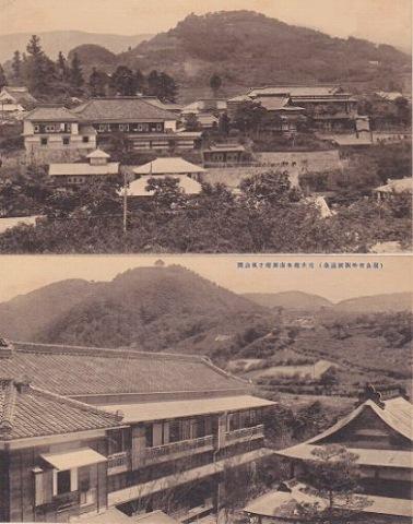 日本絵葉書『福島市街飯坂温泉』戦前 5枚一括