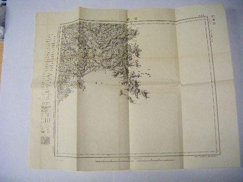 昭和初 絵図 全図 宮城『石巻 測量 地図』