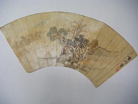 江戸 美術「阿波 徳島藩 御用 絵師 鈴木鳴門 直筆 画」