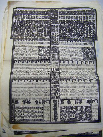 昭和47年~平成3年 横綱 力士「大相撲 番付 96枚 大量一括」宮城県