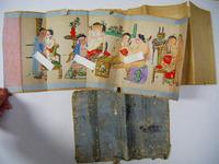 明治 浮世絵 枕絵「中国 子供 春画 彩色 肉筆 11画」オマケ付き
