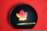 お茶菓子「紅葉」