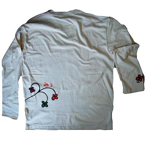 うろこパンダロングTシャツ