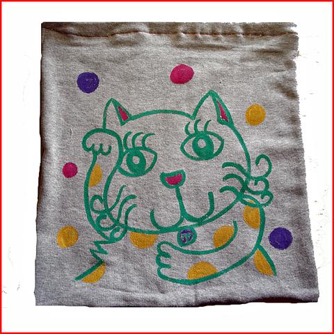 招き猫巾着