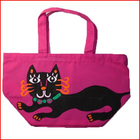 黒猫ランチバッグ