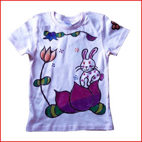 蓮うさぎTシャツ