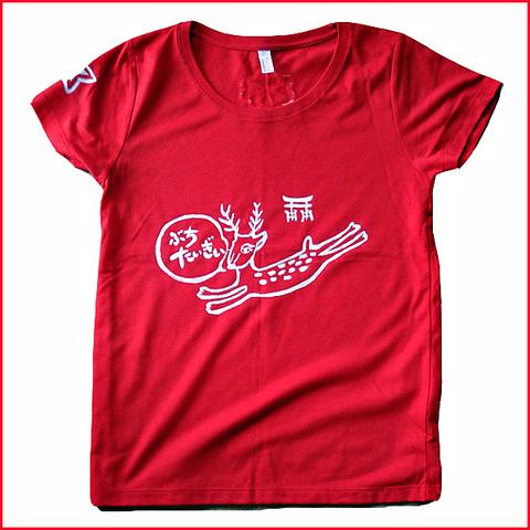 鹿もみじTシャツ