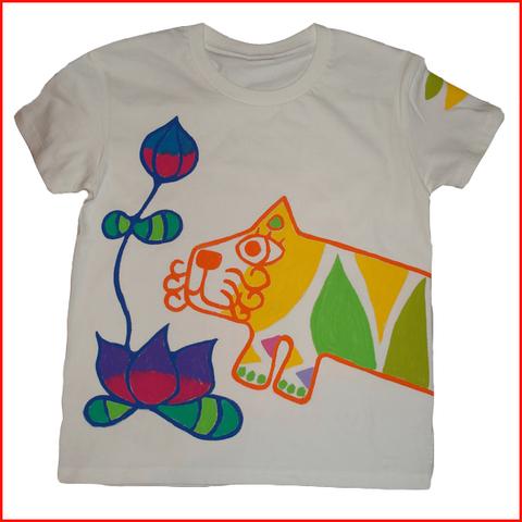 蓮と虎Tシャツ