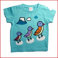 名入れTシャツ出産祝い 子供服 名入れ ペンギンTシャツ
