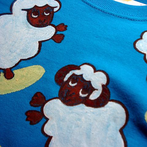 ペアルックお見合い羊が一匹羊が二匹兄弟 姉妹 お揃いTシャツペア割引!ペアルックで買うとお得!