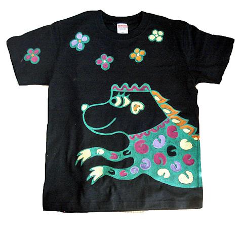 門番犬魚Tシャツ