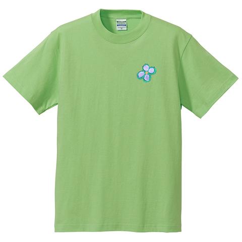 門番犬魚メッセージTシャツ