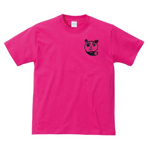 パンダメッセージTシャツ お好きなメッセージが入る!