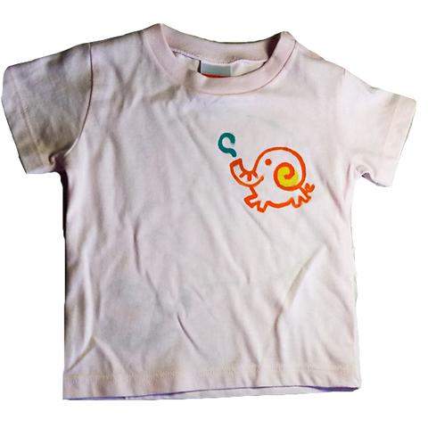 ぞうさんメッセージTシャツ お好きなメッセージが入る!