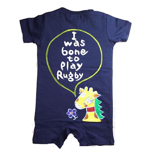 お好きなメッセージが入る!親子 ペアtシャツ きりん出産祝いギフト