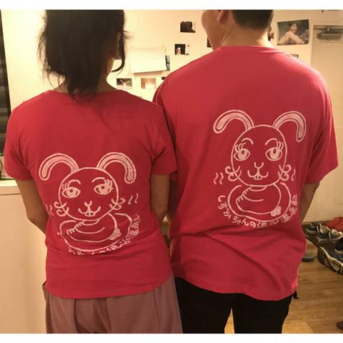 温泉モデルしずかちゃん一周年記念Tシャツ