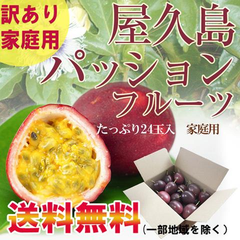 【家庭用】屋久島産パッションフルーツMサイズ24玉入り(完売しました)