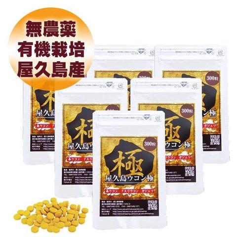 屋久島ウコン極(300粒)6袋パック