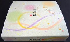 一体型紙BOX弁当80-80きらり黒中仕切Aセット 1ケース