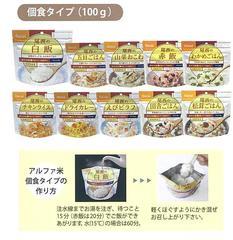 アルファ米 ドライカレー 個食タイプ(100g)
